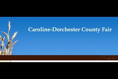 Caroline-Dorchester County Fair banner