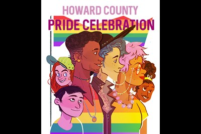 Howard County Pride Celebration poster