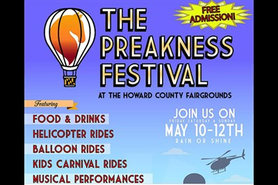 The Preakness Festival poster