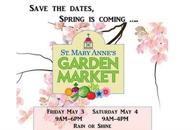 St. Mary Anne's Garden Market flyer