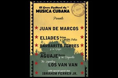 Musica Cubana Poster