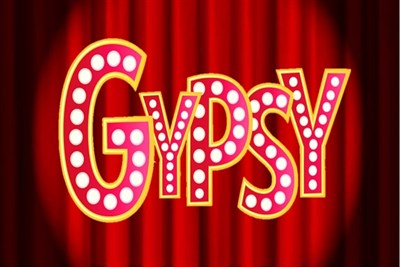Gypsy: The Musical sign in Broadway lights