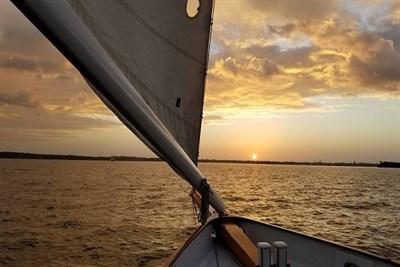 Aboard the Schooner Woodwind