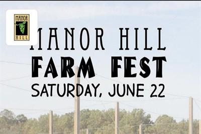 Manor Hill Farm Fest poster