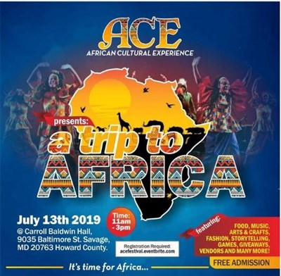 A Trip to Africa Festival poster