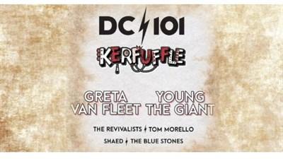 DC101 Kerfuffle poster