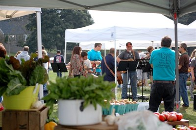 Fun, food and music at Hampstead's Farmers' Market