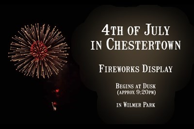 Chestertown's Fourth of July poster