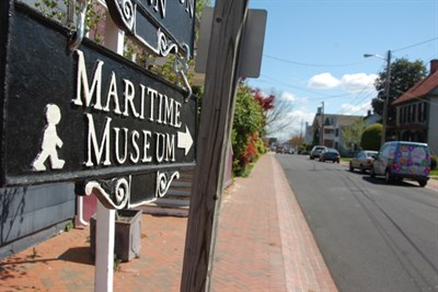 Sign for Martime Museum