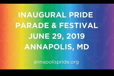 Annapolis Pride Parade & Festival logo