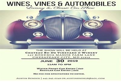 Wines, Vines & Automobiles Car Show