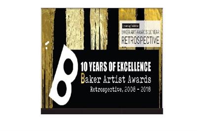 Baker Artist Awards 10 Year Retrospective poster