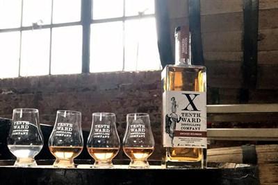 Vertical Bourbon Tasting at Tenth Ward Distilling Co.