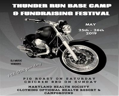 Thunder Run 2019 poster