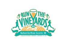 Run the Vineyards:  Bohemia River Scenic 5K logo