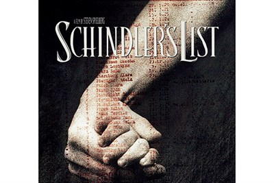 Poster from the movie Schindler's List