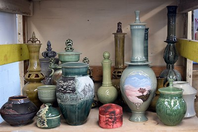 Baltimore Clayworks' Artists work