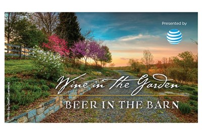 Wine in the Garden, Beer in the Barn poster