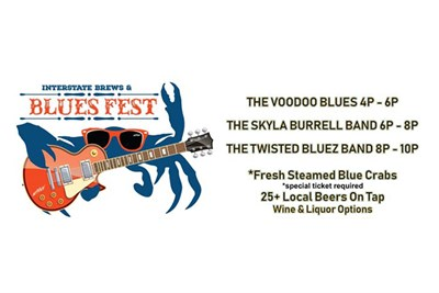 Interstate Brews & Blues fest banner