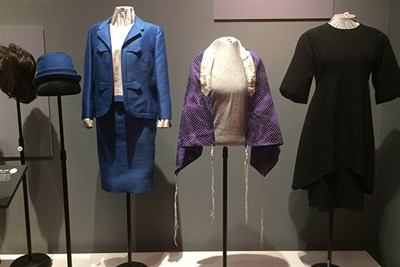 Exhibit Displaying Women's Clothing