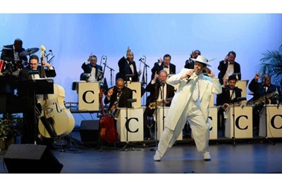 Cab Calloway Orchestra on stage