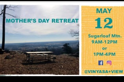 Mother/Daughter Yoga Retreat Banner