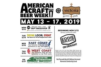 American Craft Beer Week flyer