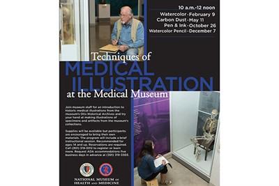 NMHM Medical Illustration Workshop Flyer