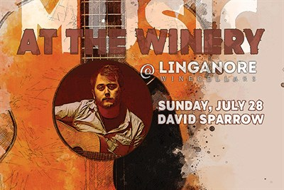 Music At The Winery, Featuring David Sparrow