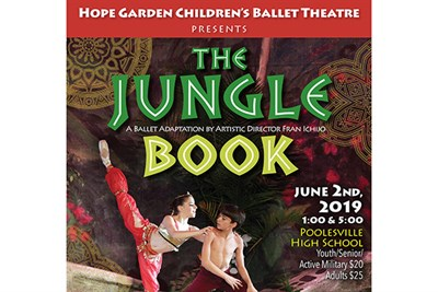 Jungle Book show poster