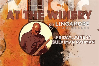 Music At The Winery, Featuring Sulaiman Rahman