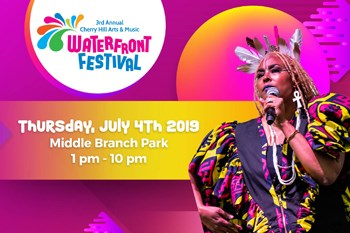 Cherry Hill Arts & Music Waterfront Festival cover image.