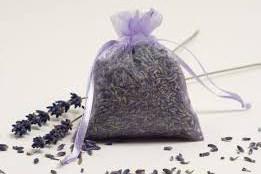 a lavender sachet