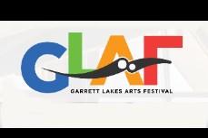 Garrett Lakes Arts Festival logo