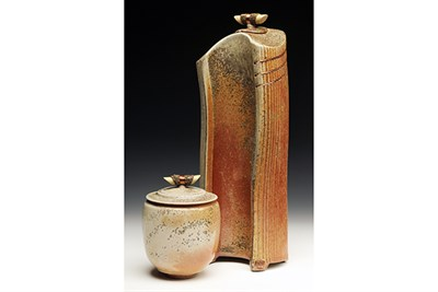 Woodfired Ceramic Vessels created by Greg Holmes