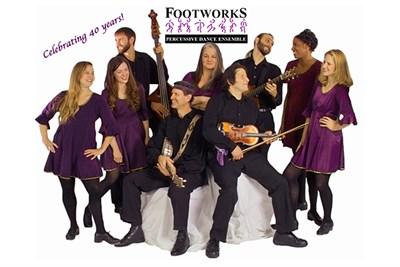Footworks performers together