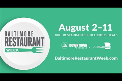 Baltimore Restaurant Week Summer poster