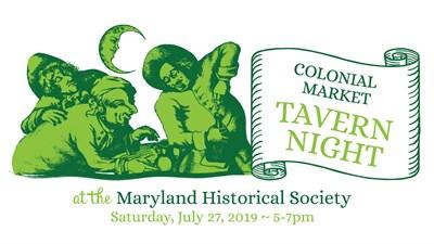 Colonial Market Tavern Night poster