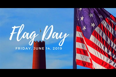 92nd Annual Flag Day Celebration Banner