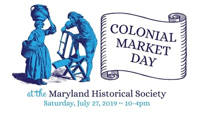 Colonial Market Day poster