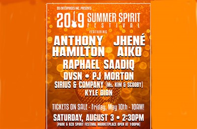 Summer Spirit Festival poster