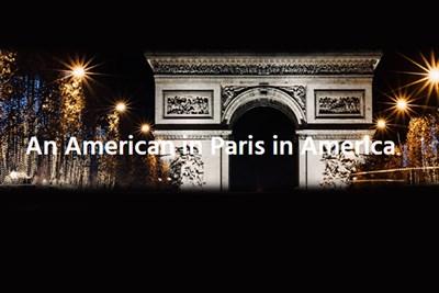 An American in Paris in America poster