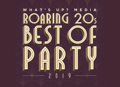 What's Up? Media Roaring 20's Best Of Party poster
