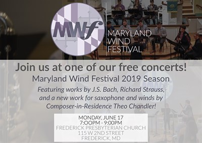 Maryland Wind Festival Events Poster