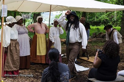 Washington Revels Jubilee Voices perform at the 2018 Fair.