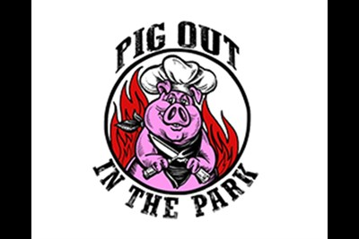 Pig out in the Park logo