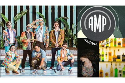 Flow Tribe and AMP poster