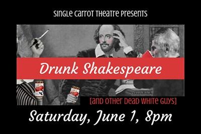 Drunk Shakespeare poster