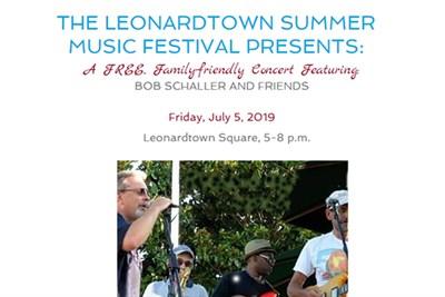 Leonardtown Music Festival with Bob Schaller
