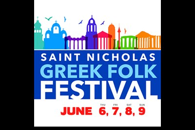 St. Nicholas Greek Folk Festival poster